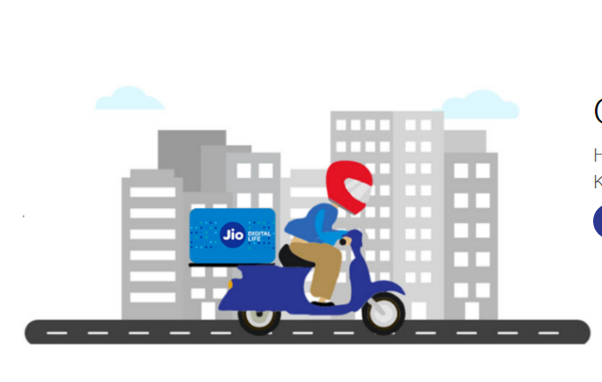 Jio SIM home delivery with unlimited benefits