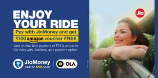 JIO Pay OLA Amazon Voucher