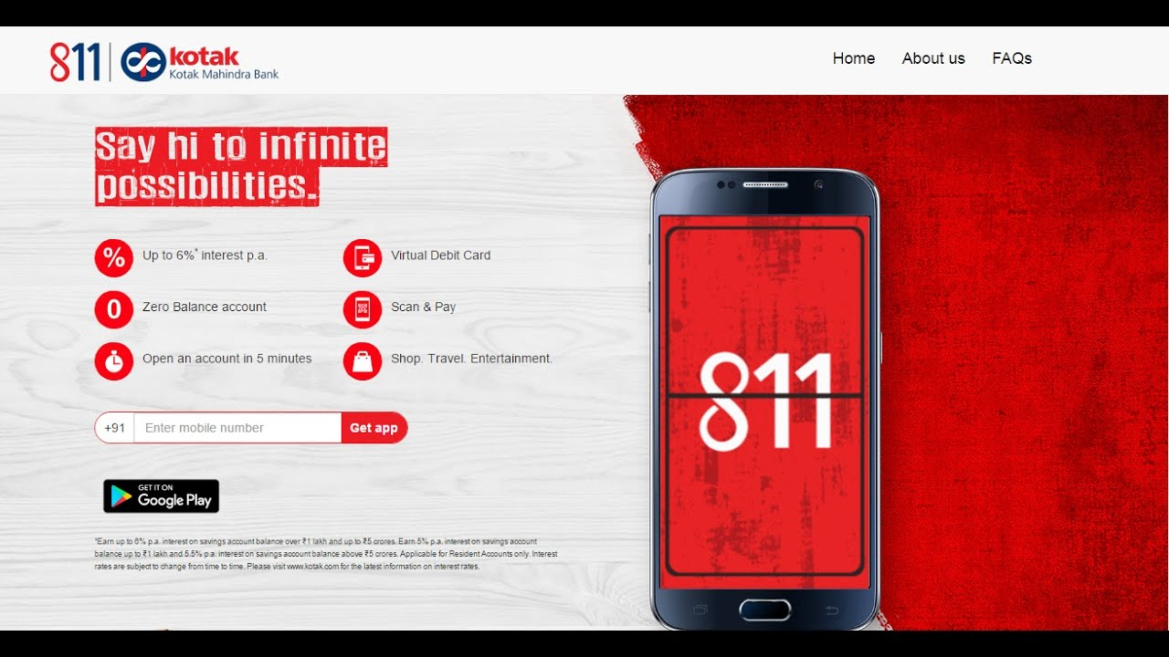 kotak 811 customer care