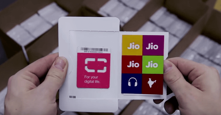 Reliance Jio 4G New SIM Card and Activation.