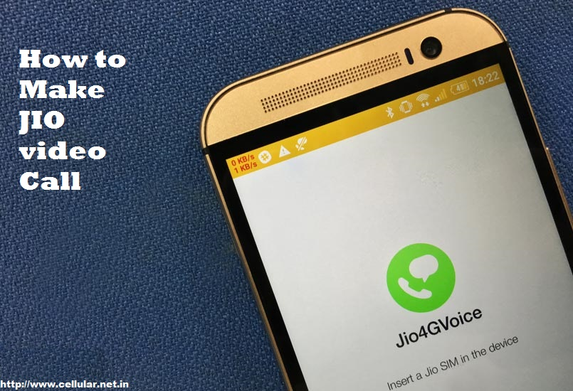 How to Make JIO Video Calls - India Cellular