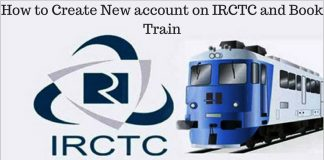 How to Create New account on IRCTC and Book Train1