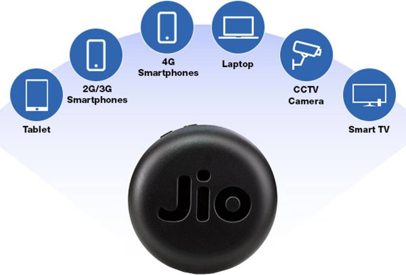 JioFi Router in Rs. 999